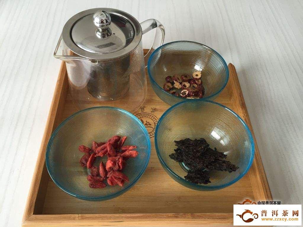 普洱茶能和枸杞能一起泡着喝有什么好处?