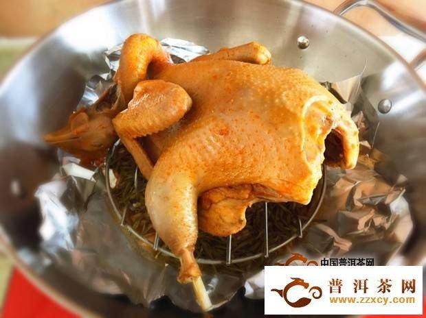茶叶熏鸡的做法