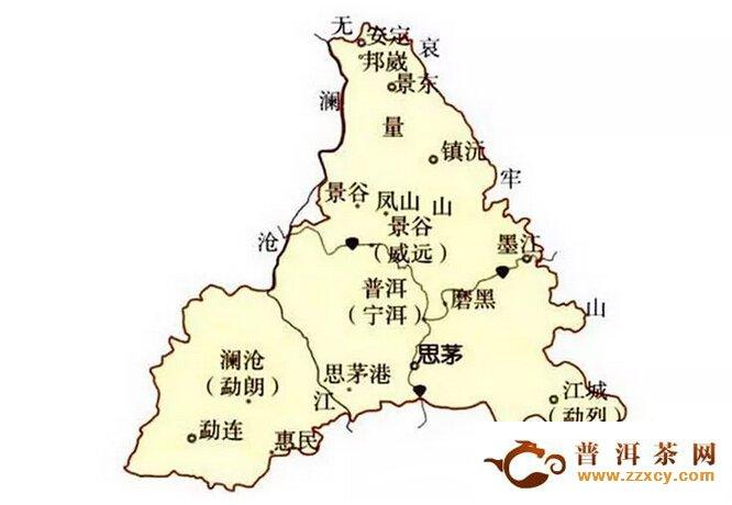 云南普洱茶茶区之一 普洱市