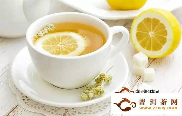 喝柠檬普洱茶有什么好处